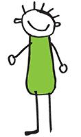 kreslená postavička skřítci
