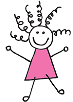 kreslená postavička dráčci
