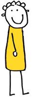 kreslená postavička berušky